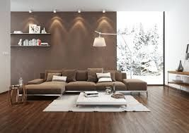 Charmant Bildergebnis Für Wohnzimmer Ziegelstein Tapete Braune Couch