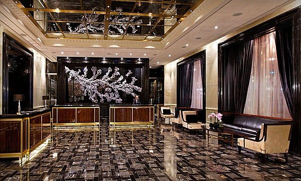 Interior Design Magazine The Lobby Of New Trump International Hotel Toronto Designed By II