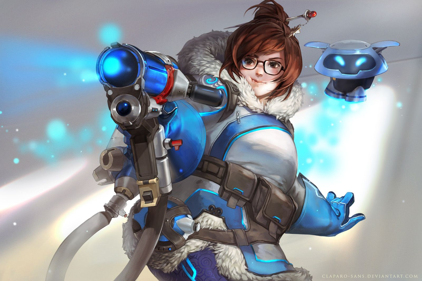 "Mei by ClaparoSans ""A few weeks ago I was commissioned"