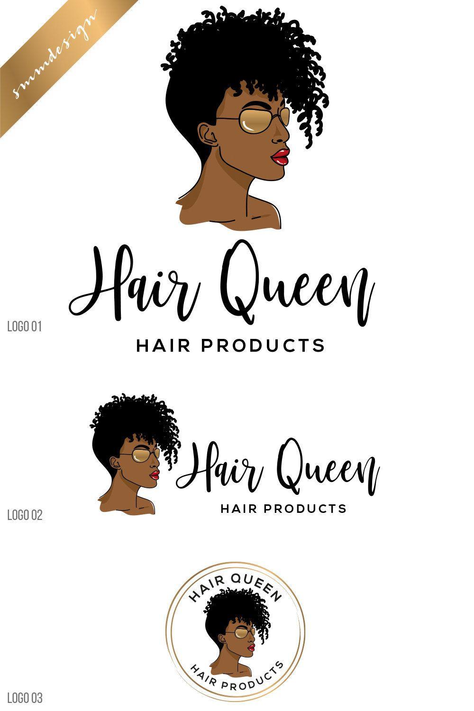 Afro Woman Hair Curly Hair African Woman Hair Hair Stylist Etsy Hair Stylist Logo Hair Logo African Women Hair