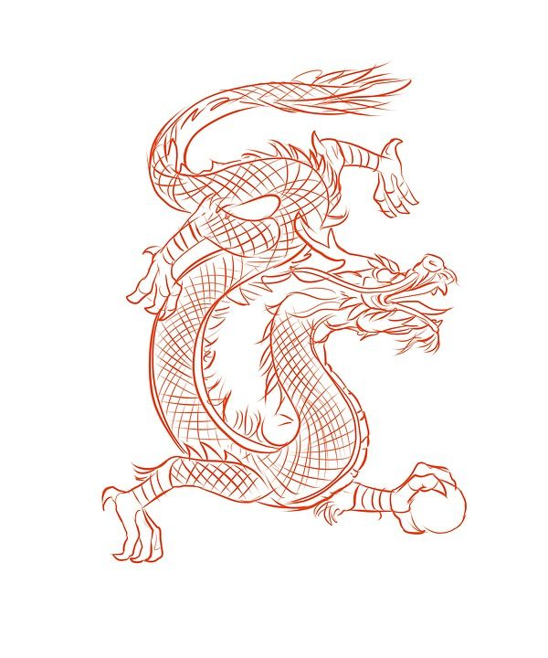 Free Image On Pixabay Dragon Design Chinese Eastern Dragon Sketch Chinese Dragon Drawing Easy Dragon Drawings