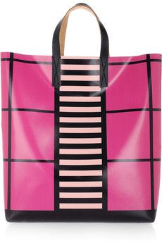 dc09e1707705 Marni Printed Vinyl and Leather Tote  290  GeometricPrints