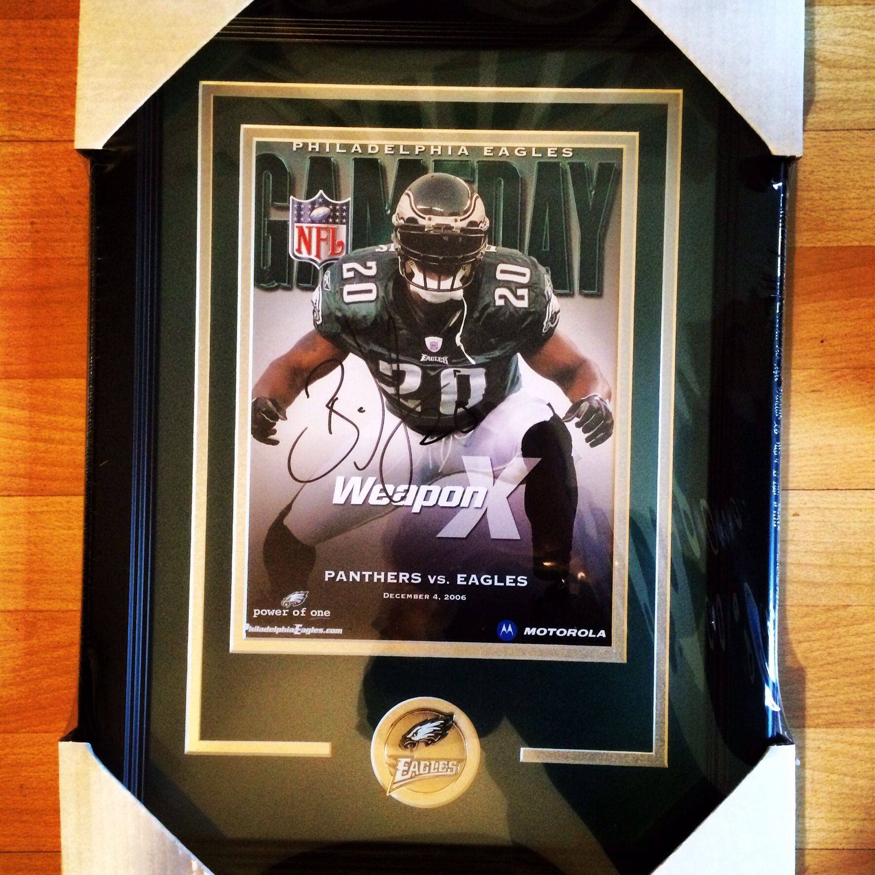 Brian Dawkins  officialeagles signed program. Find this Pin and more on Philadelphia  Eagles by Bucks County Baseball Co. 92d028240