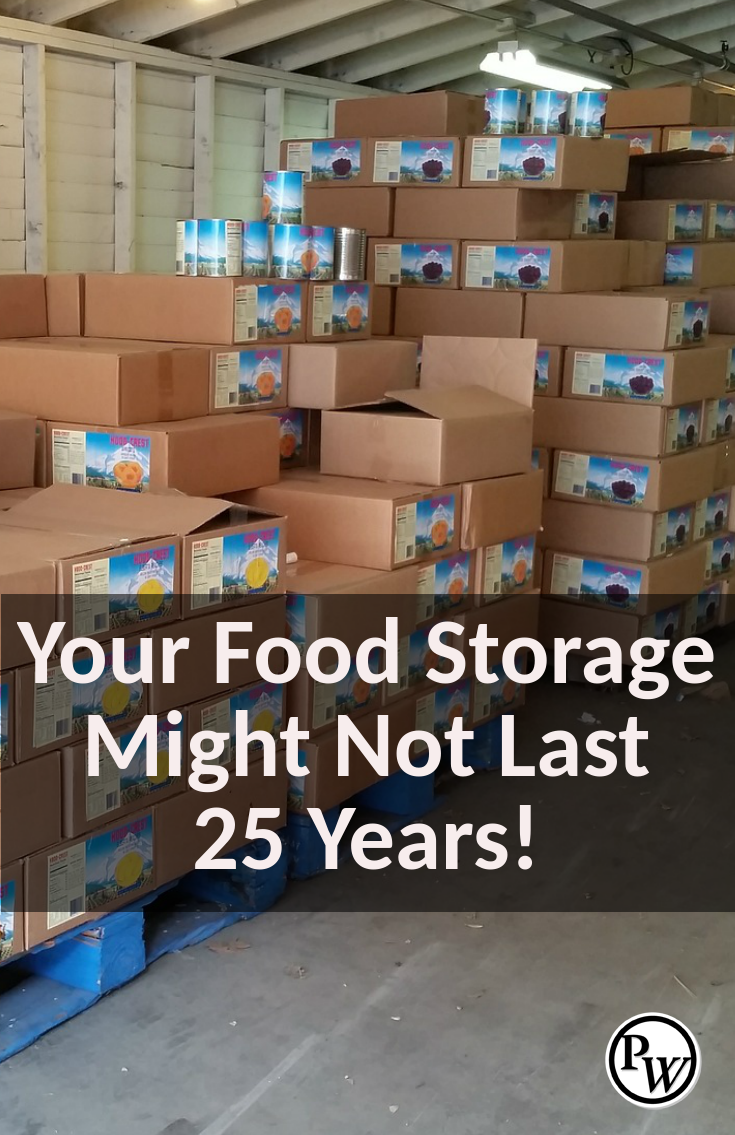 Many preppers might be surprised in SHTF when their food storage doesnu0027t last 25 years! & Many preppers might be surprised in SHTF when their food storage ...