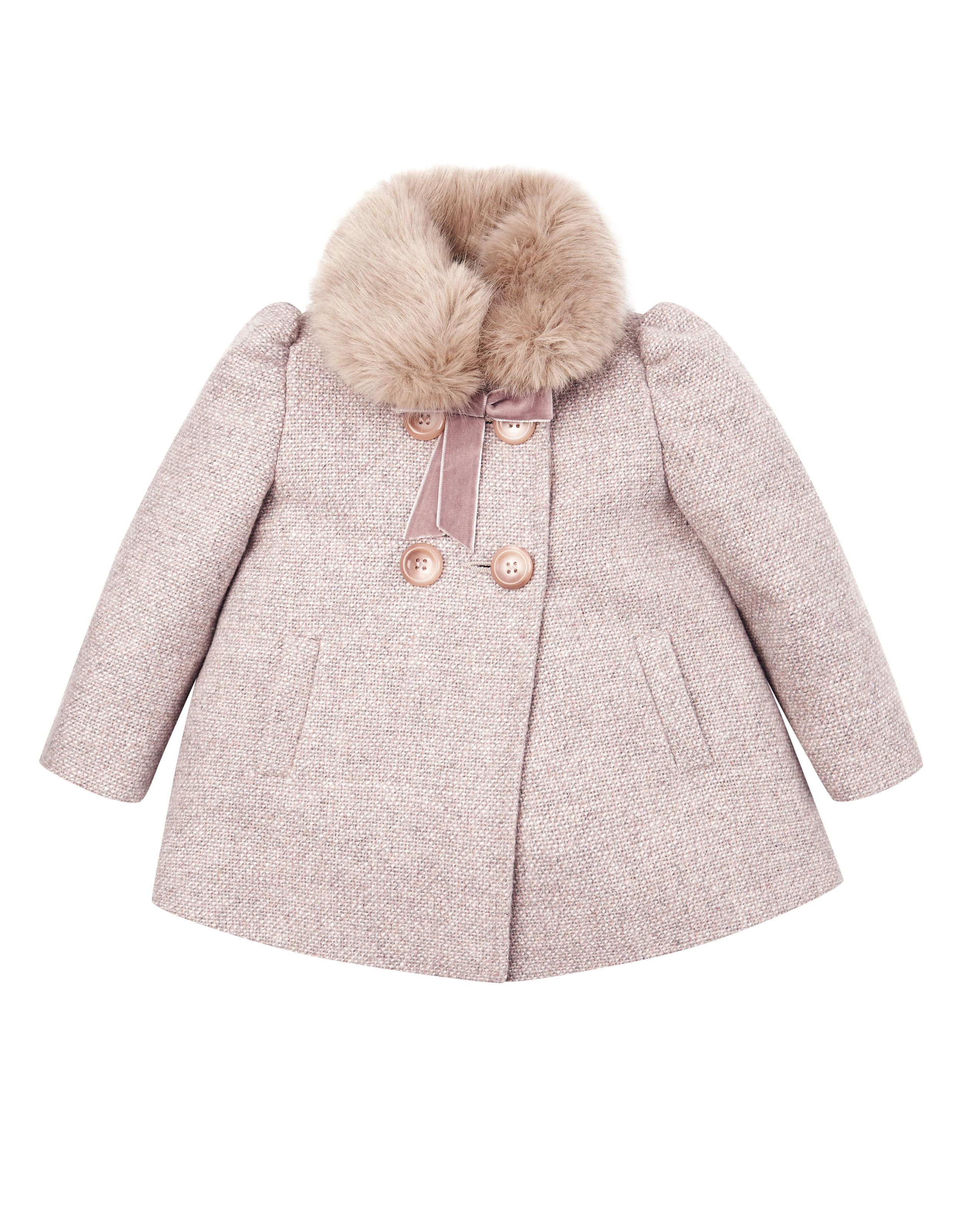 ca89af79b Baby Claire Coat with Fur