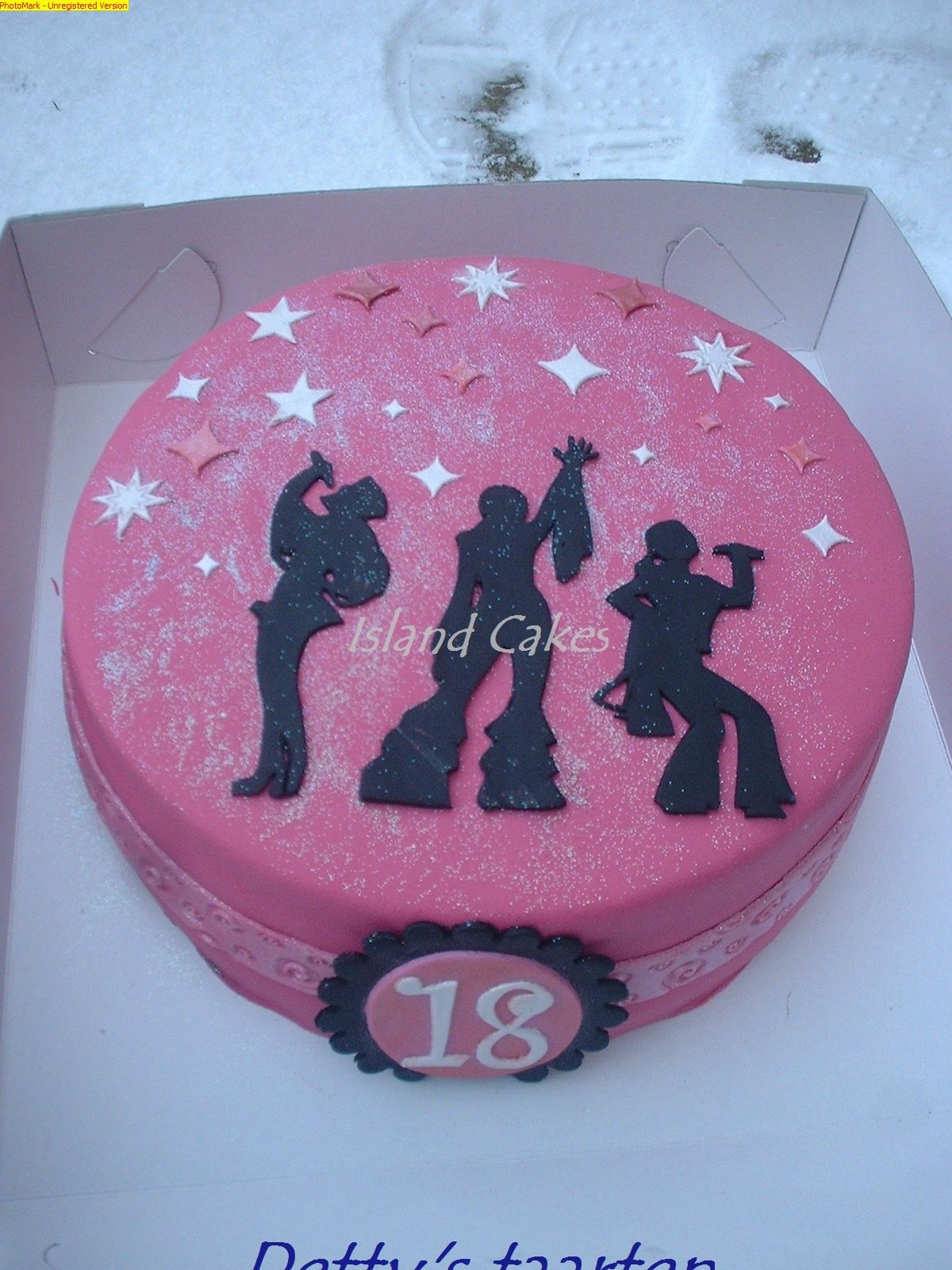 Mamma Mia This Cake Was Made For An 18 Year Old Girl Who