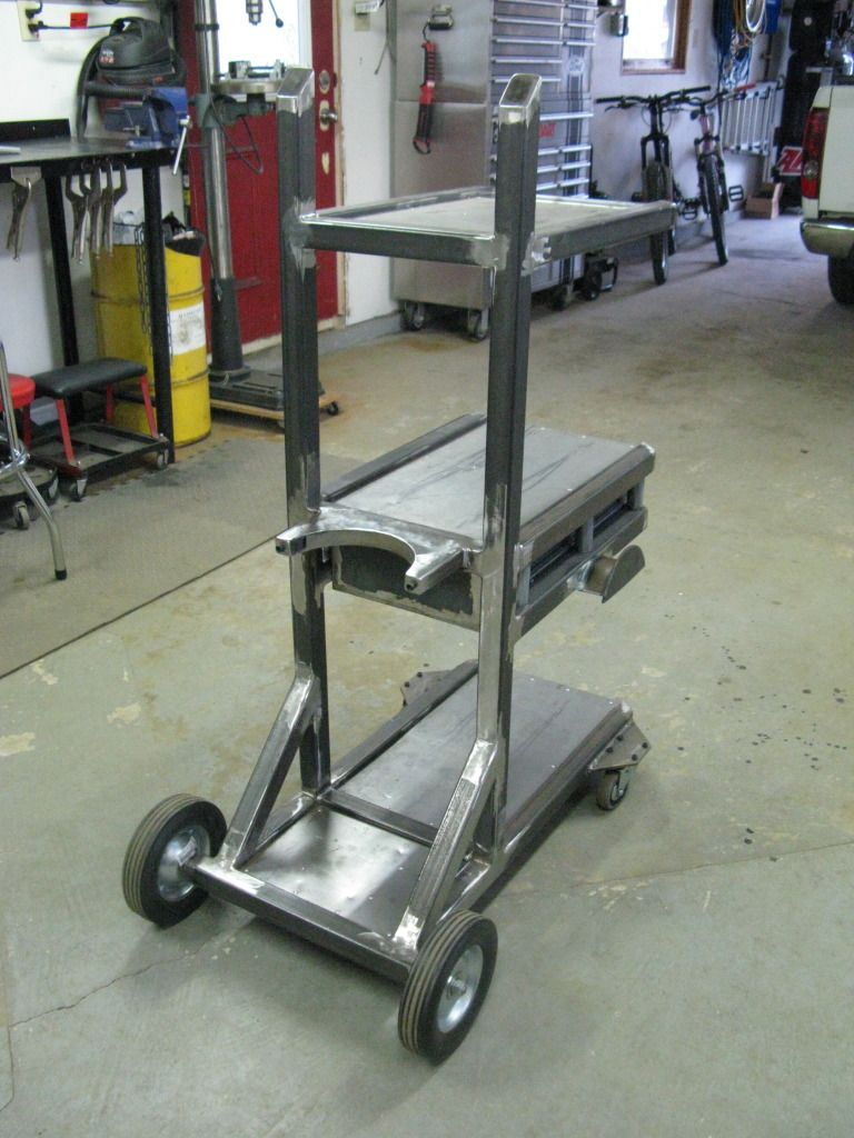 Welding Cart Project - Now complete, pics on page 5! - Page 3 ...