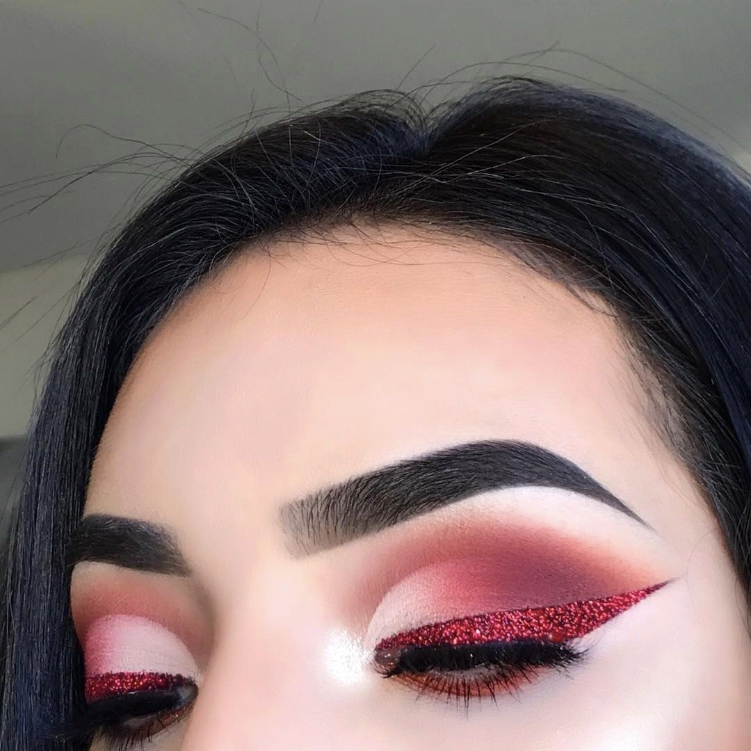 Pin by Alondrar22 on Beauty Valentines makeup, Red