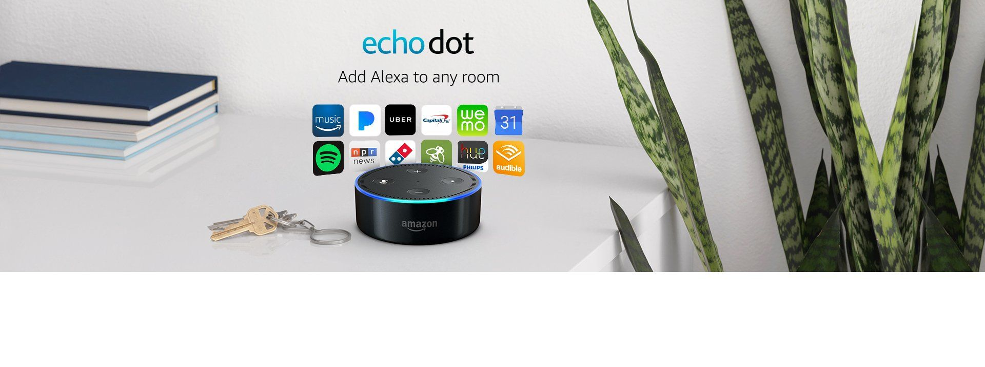 Amazon Audible Affiliate Echo Dot 2nd Generation Black Click On The Image For