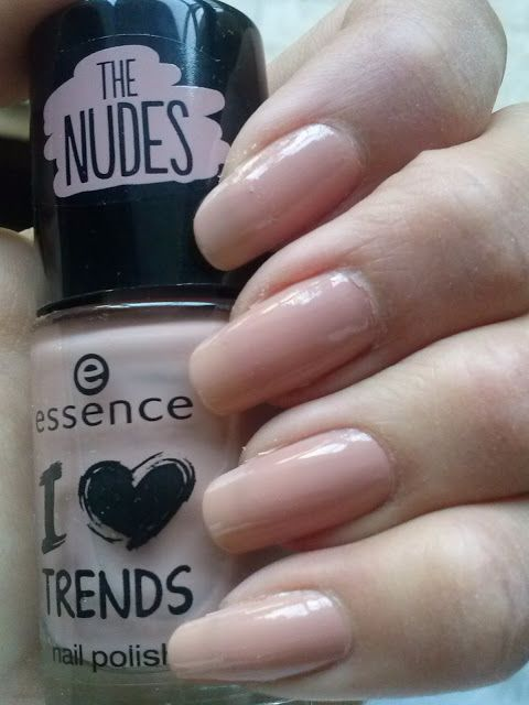 Essence - I love TRENDS - The NUDES - 03 i'm lost in you #nails