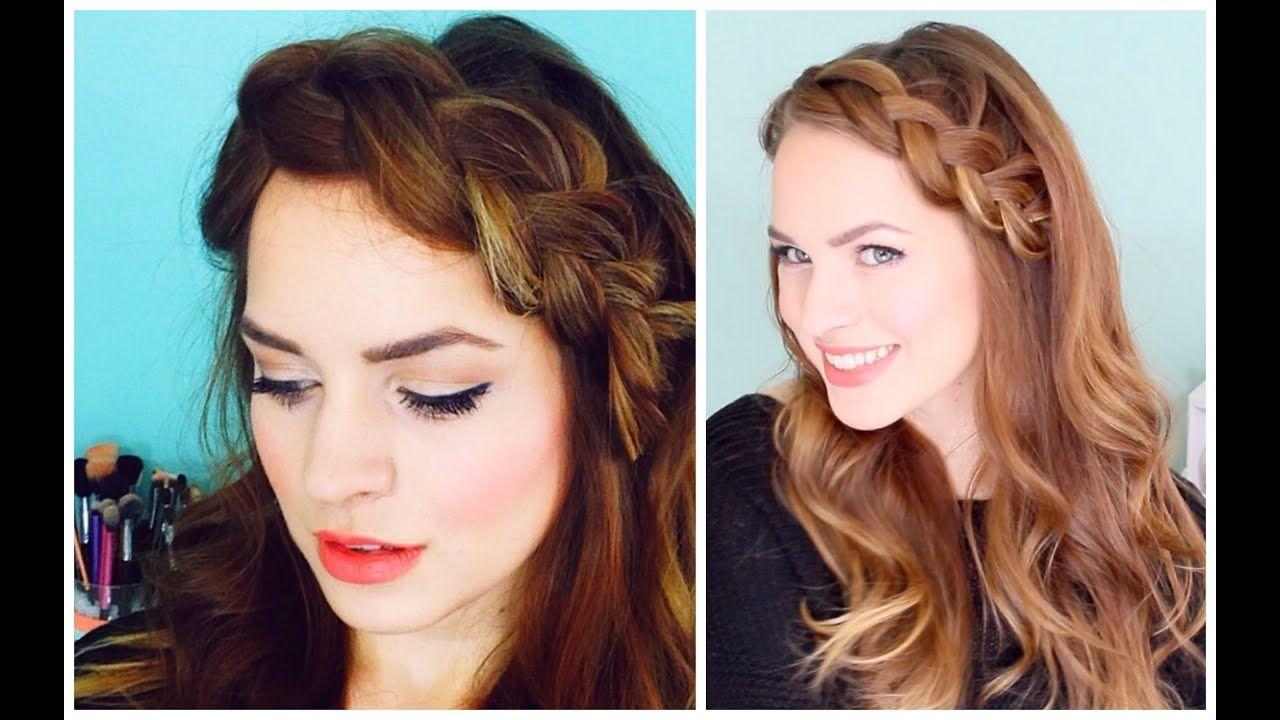 How to: Mini Crown Braid - YouTube   Hair styles, Thin ...
