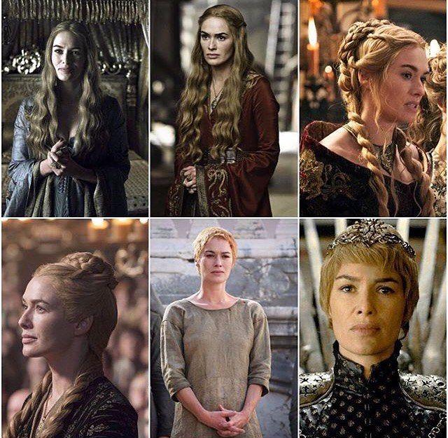 Cersei Lannister!  Tem quem admira!  #gotbrasil #hbo #got #gameofthrones #cersei #cerseilannister