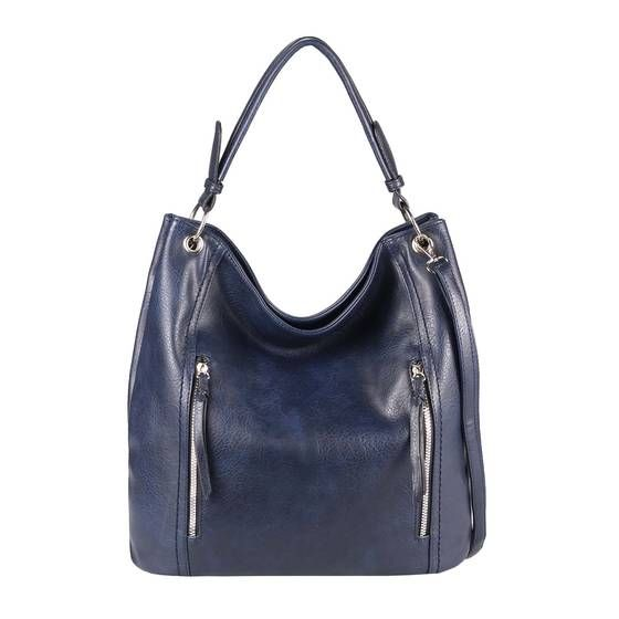 Damen Handtasche Schultertasche Shopper Bag Umhängetasche Kunstleder Modern