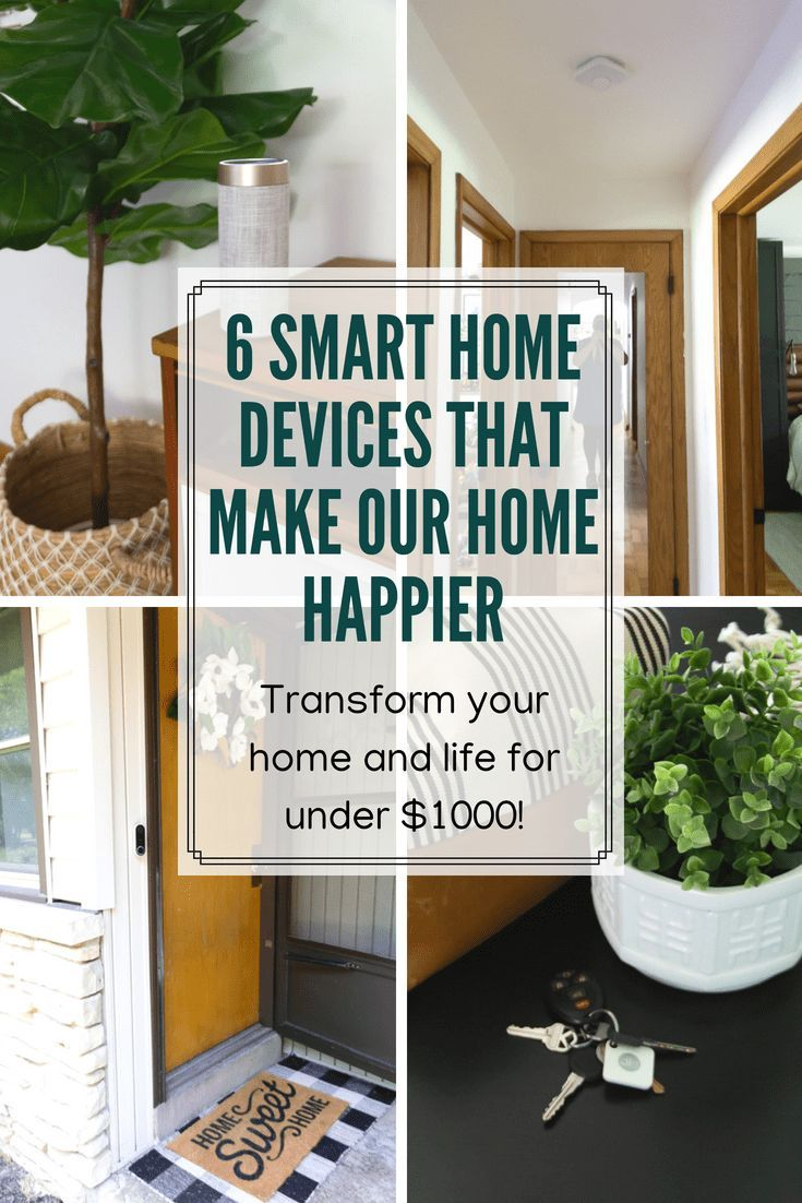 Smart Home Devices Making Our Home Happier Smart Home