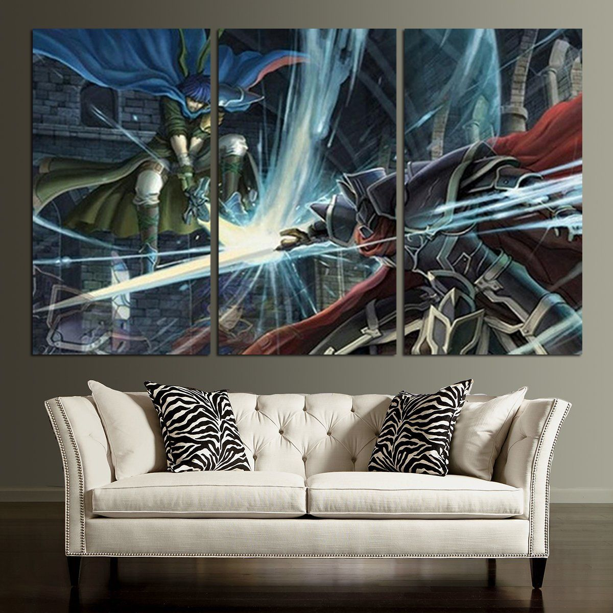 Fire Emblem Black Knight Wall Art Canvas Twin Wall Art Canvas