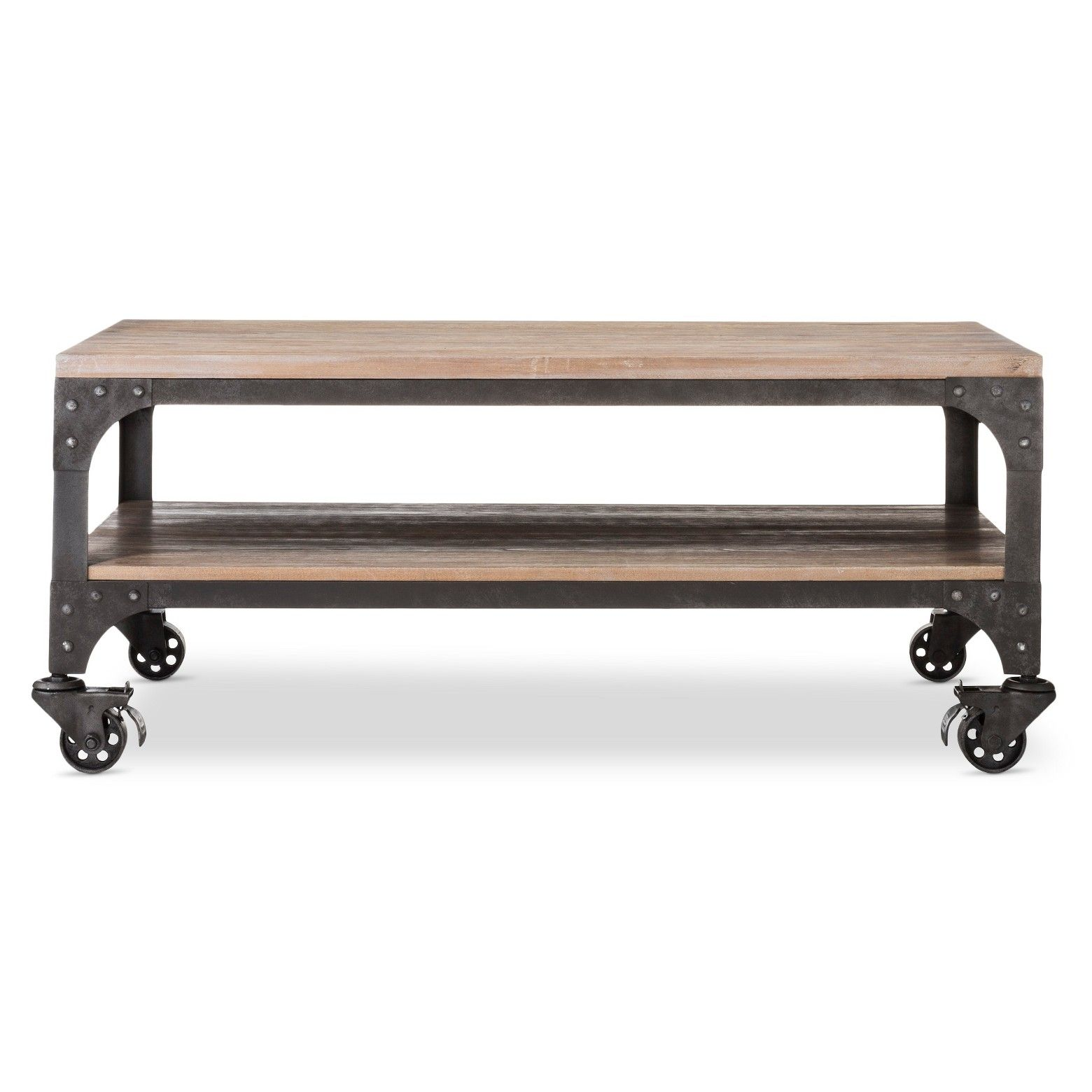 Franklin Coffee Table Weathered Gray Threshold™