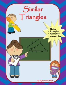 Geometry Worksheet Similar Triangles Geometry Resources