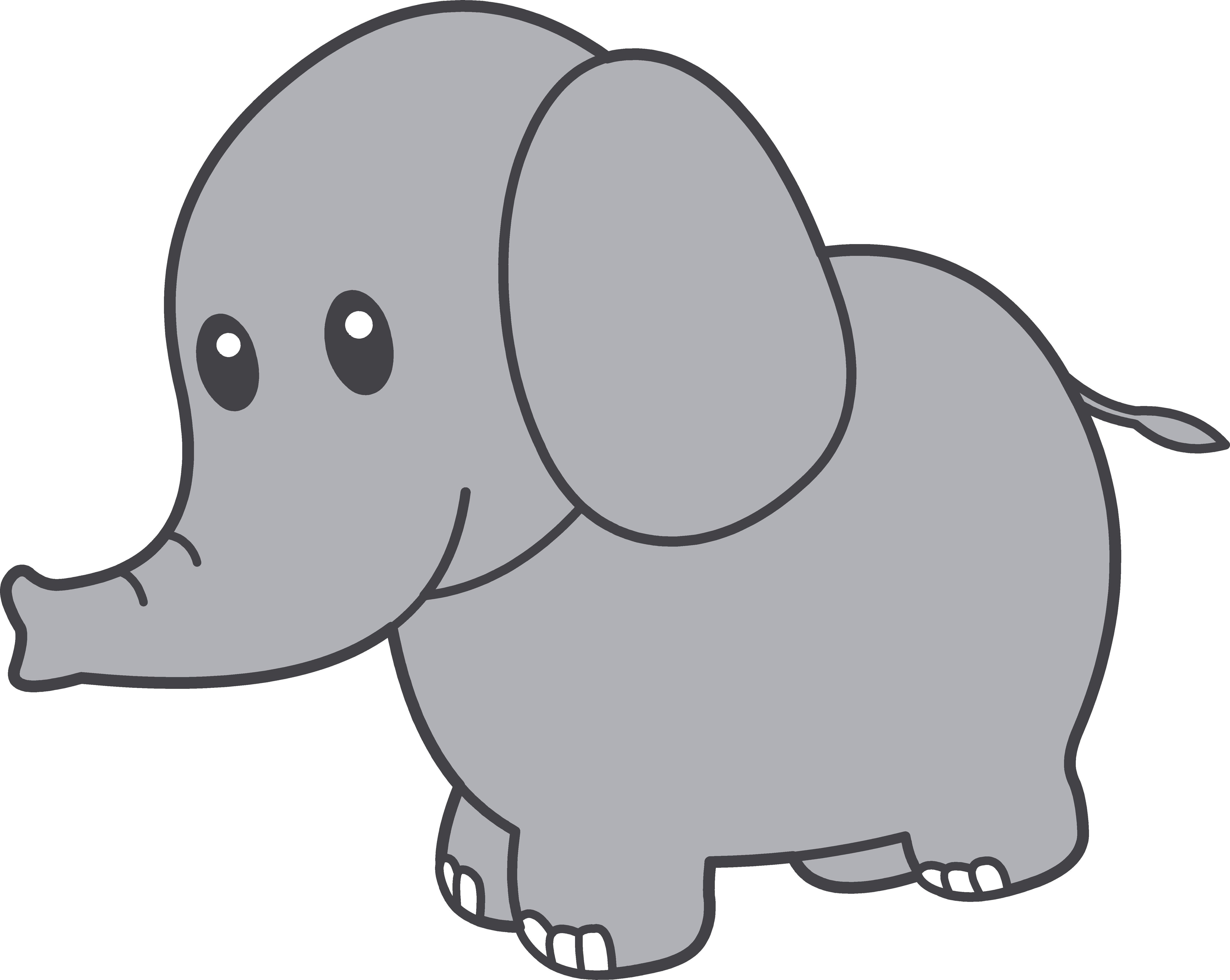 Cute elephant clipart free clipart images | My cricut | Pinterest ...