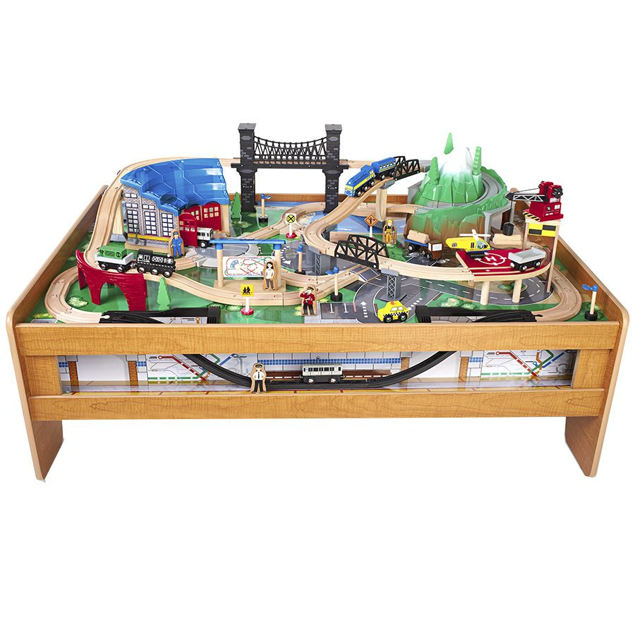 Imaginarium Metroline Train Table Natural Toys R Us Australia Train Table Wooden Train Table Model Train Table
