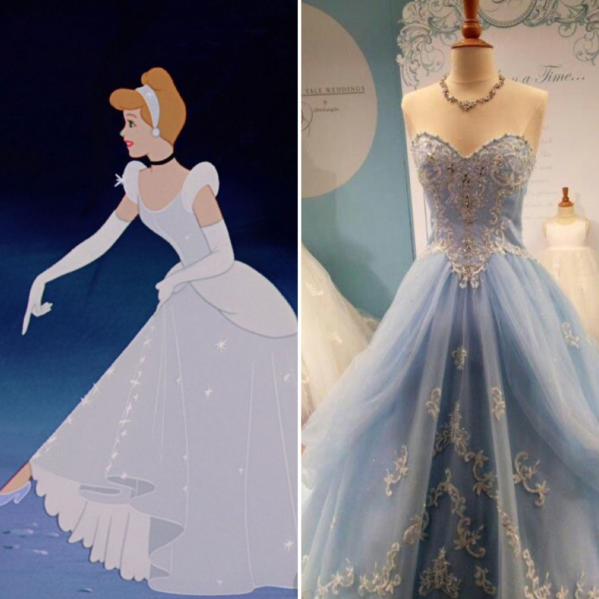016f2d22ac4 Cinderella inspired Prom Dress