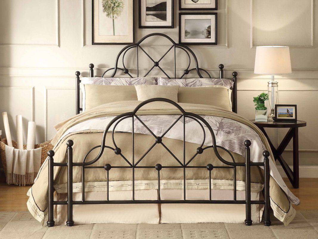 Queen Size Black Metal Bed At Big Lots Bed Black Metal Bed Metal Beds