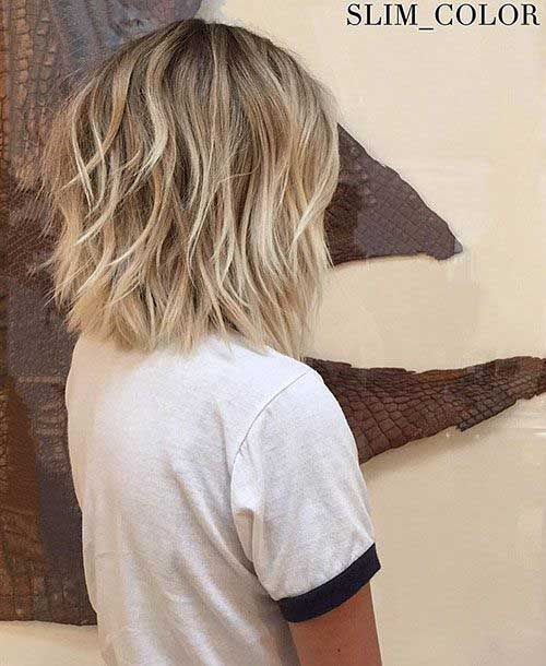 30+ Back View Of Short Layered Haircuts #layeredbobhairstyles