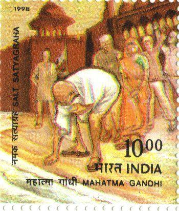 Dandi Salt March 1931 Gandhi India Freedom Struggle