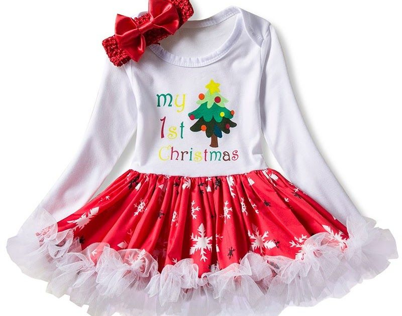 8f9188845 Cheap Price Newborn Baby Girl Clothes Christmas Party Dresses for 1 ...