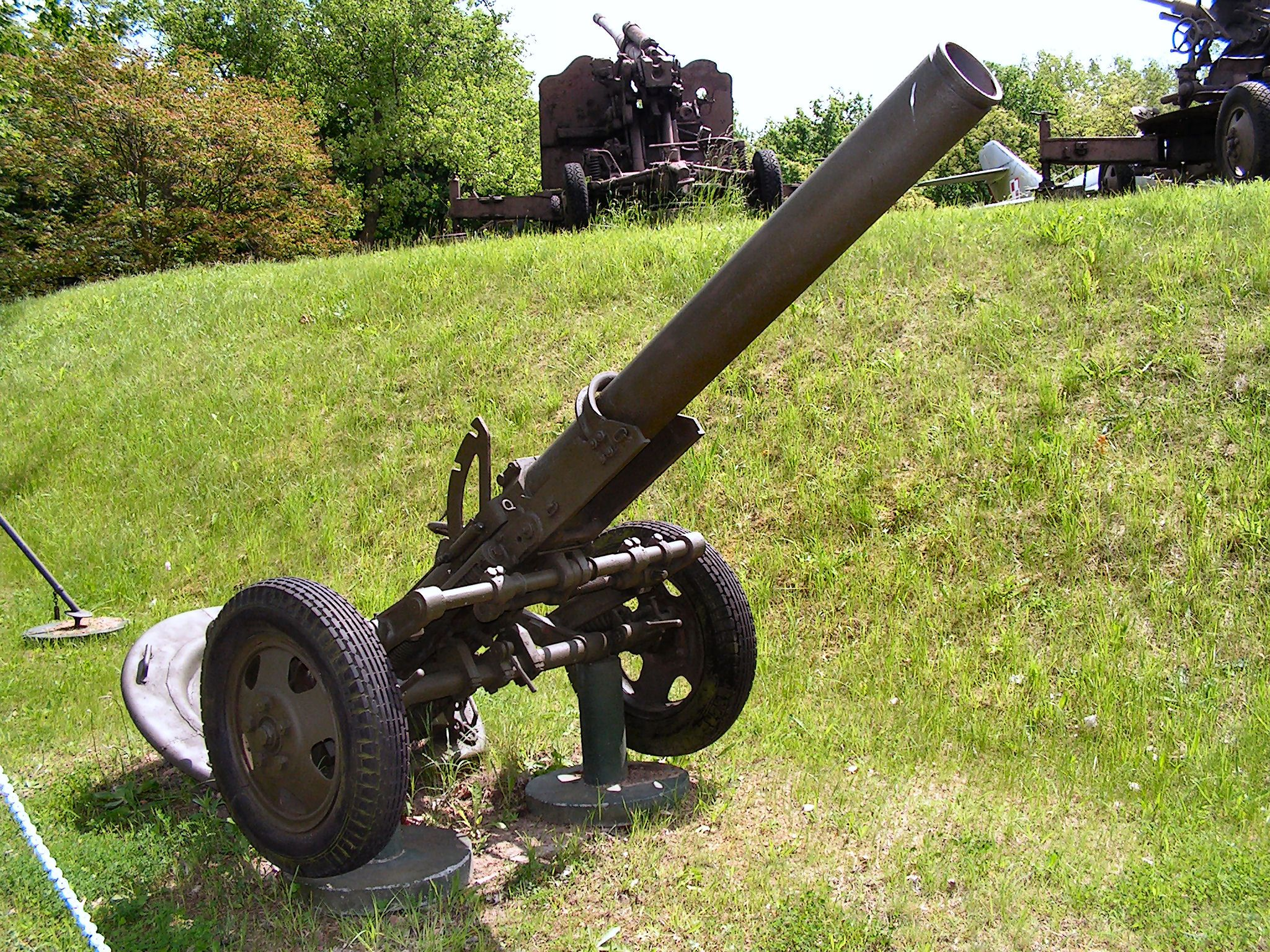 160mm Regimental Mortar