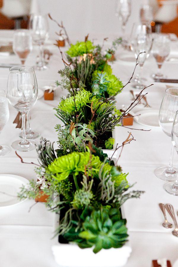 Natural-Modern-Succulent-Branch-Centerpiece   Weddings ...