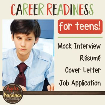 Career Readiness - Cover Letter, Résumé, Job Application, and Mock - help with resumes and cover letters