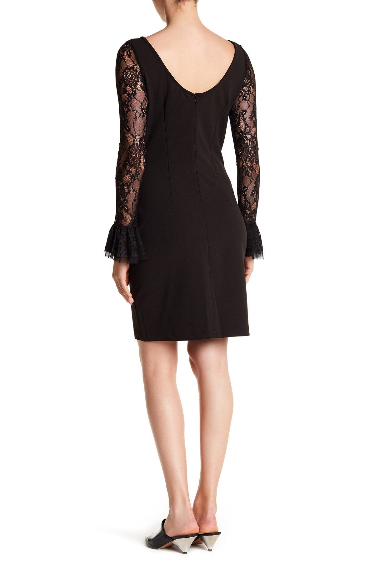 13c486da6875 Ruffle Lace Boatneck Dress by Alexia Admor on @HauteLook | Clothes ...