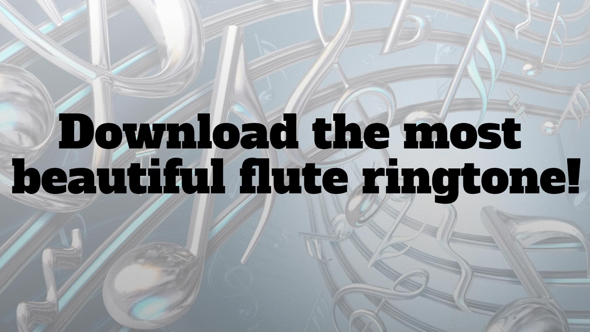 Flute Ringtone Download Now The Most Beautiful Tune Flute Music Websites Beautiful
