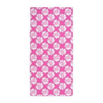 Pink Flowers, Beach Towel