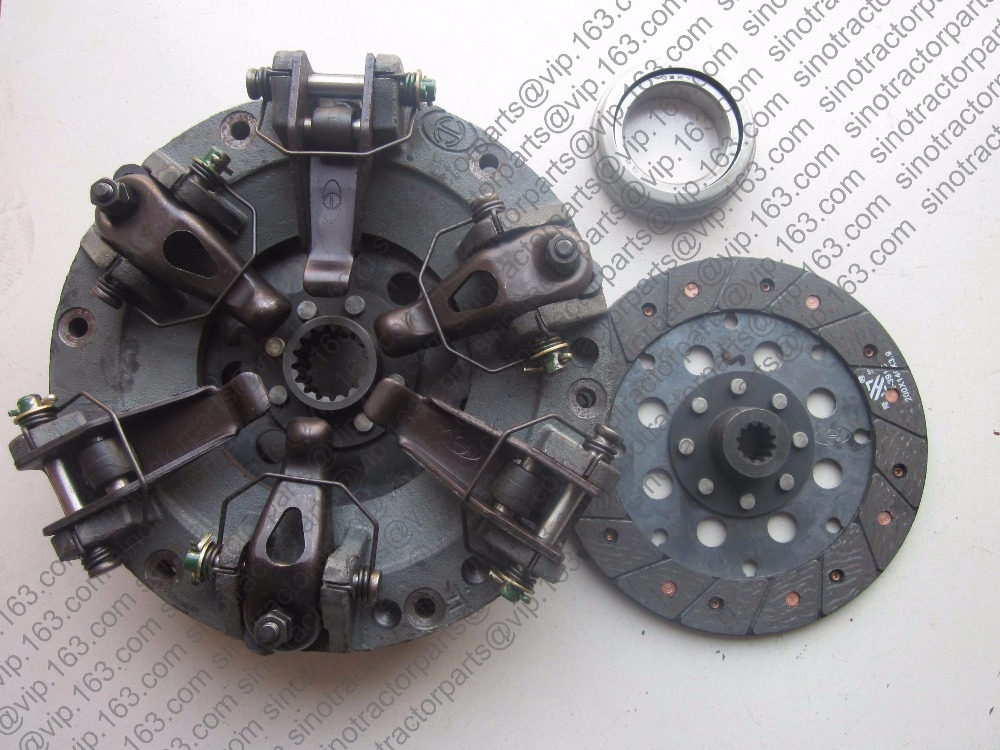 149.99$  Buy here - http://aliv0g.worldwells.pw/go.php?t=32775858717 - Foton TE250 FT254 tractor, the dual stage clutch with PTO disc and release bearing, FT250.21B.011