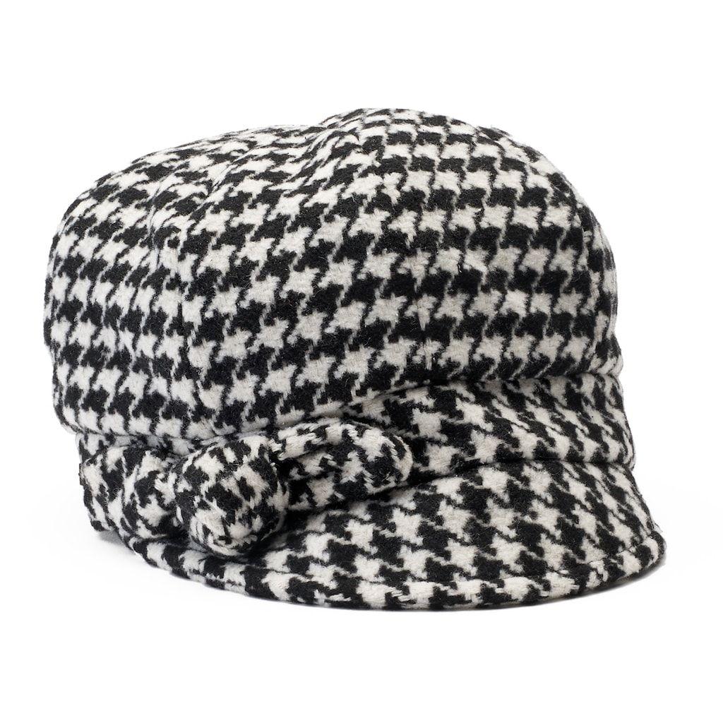 Betmar Women s Adele Knotted Bow Newsboy Hat  0509a2e4758