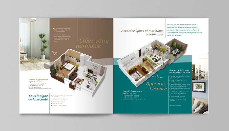 Bouygues immobilier plaquette interieure florilege - Bureau de vente immobilier ...