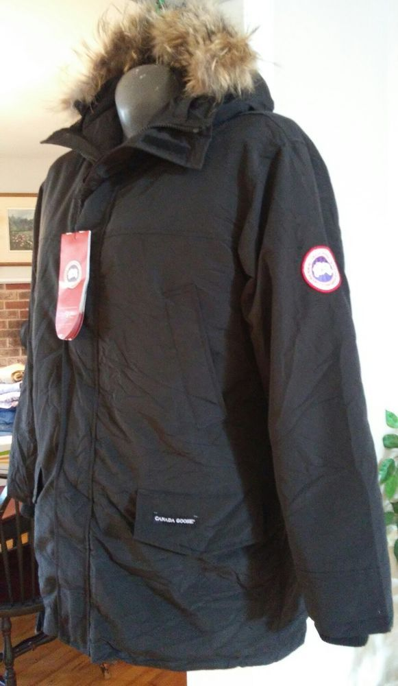 Canada Goose Ebay >> Canada Goose Mens Jacket Parka Coyote Fur Hood Down New With Tags