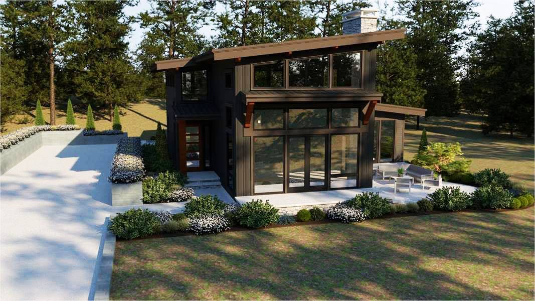 Plan 7249 2 Story 2 102 Total Square Footage Mud Room Behind Kitchen Modern House Plans Contemporary House Plans Contemporary Style Homes