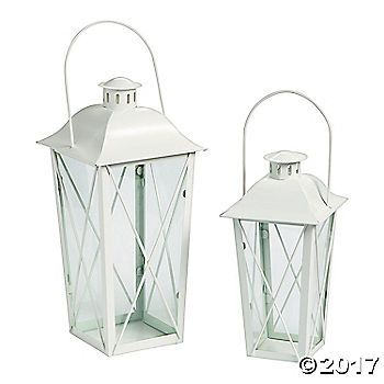 Make your wedding reception glow with this lovely lantern set. Illuminate your big night as you bask in the lovely light and the congratulations of your ...