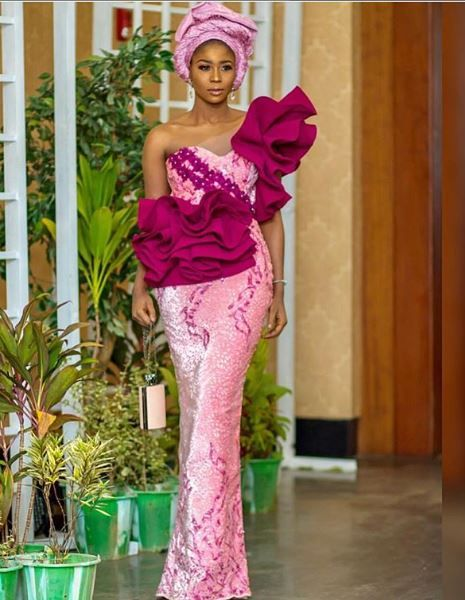 What Celebrity Guests Wore to Mo Abudu's Daughter's Wedding (Aso-ebi Slayers Vol1) - NaijaGlamWedding #nigeriandressstyles