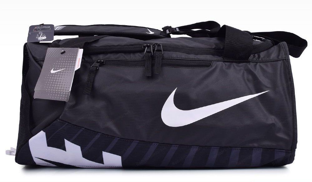 3e144ed4b5 Nike Alpha Adapt Team Bag Sports Duffel Small Cross Body Black Gym  BA5183-010  Nike  DuffleGymBag