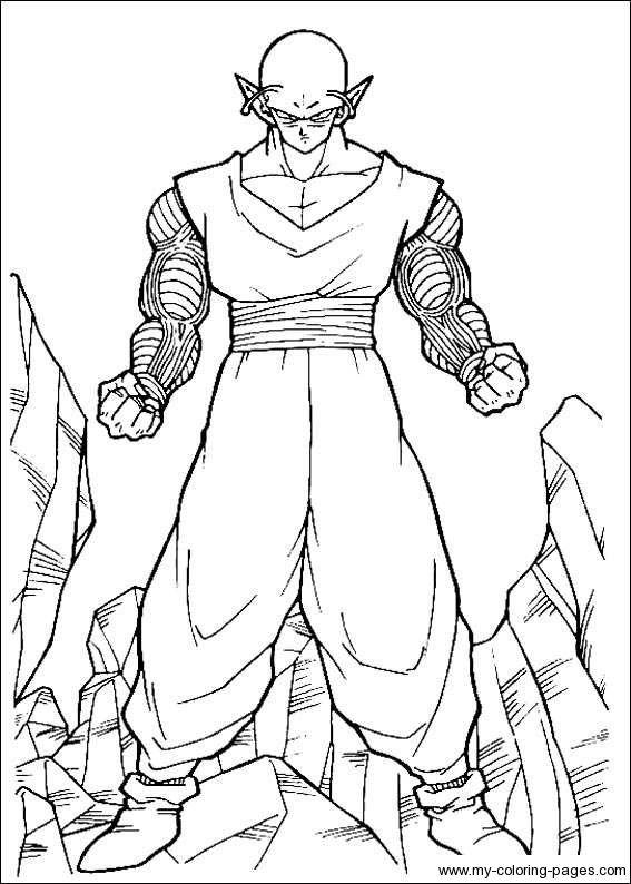 Dragon Ball Z Coloring Pages Dragon Ball Artwork Dragon Ball Dragon Ball Art