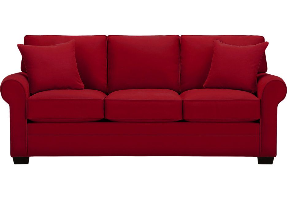 The Amazing Red Sofa | Cindy crawford home, Cindy crawford ...