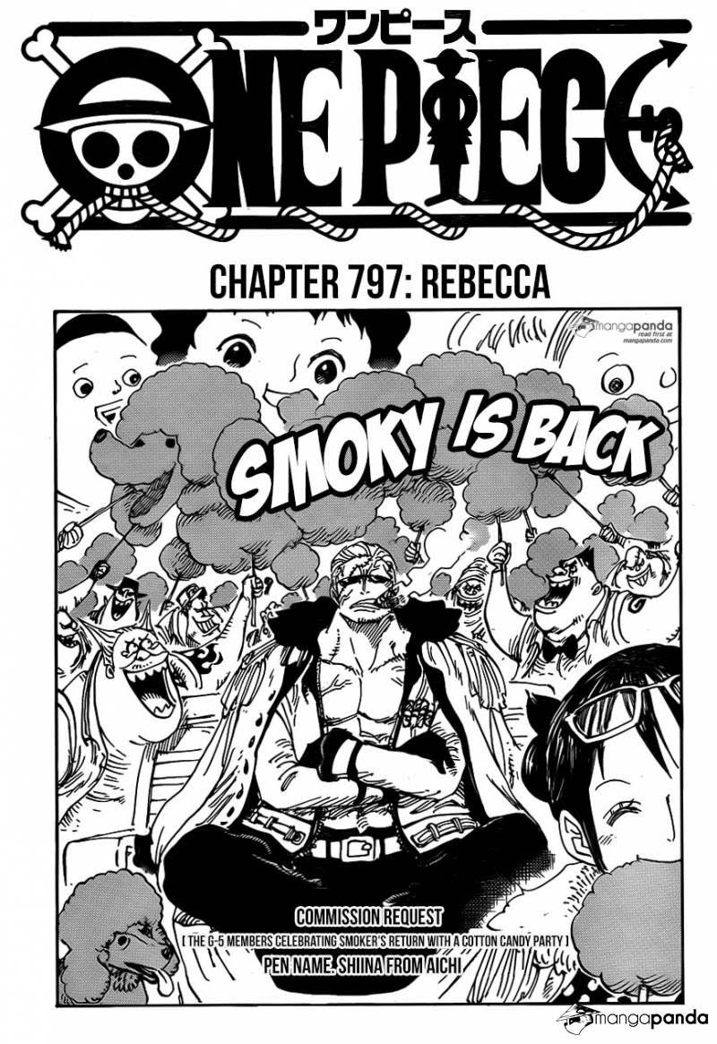 Shintigercurl Reacts To One Piece Chapter 797 Rebecca One Piece Manga One Piece Chapter One Piece