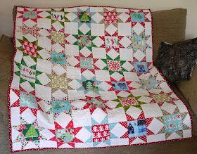 Brigantia Designs - Christmas quilt.