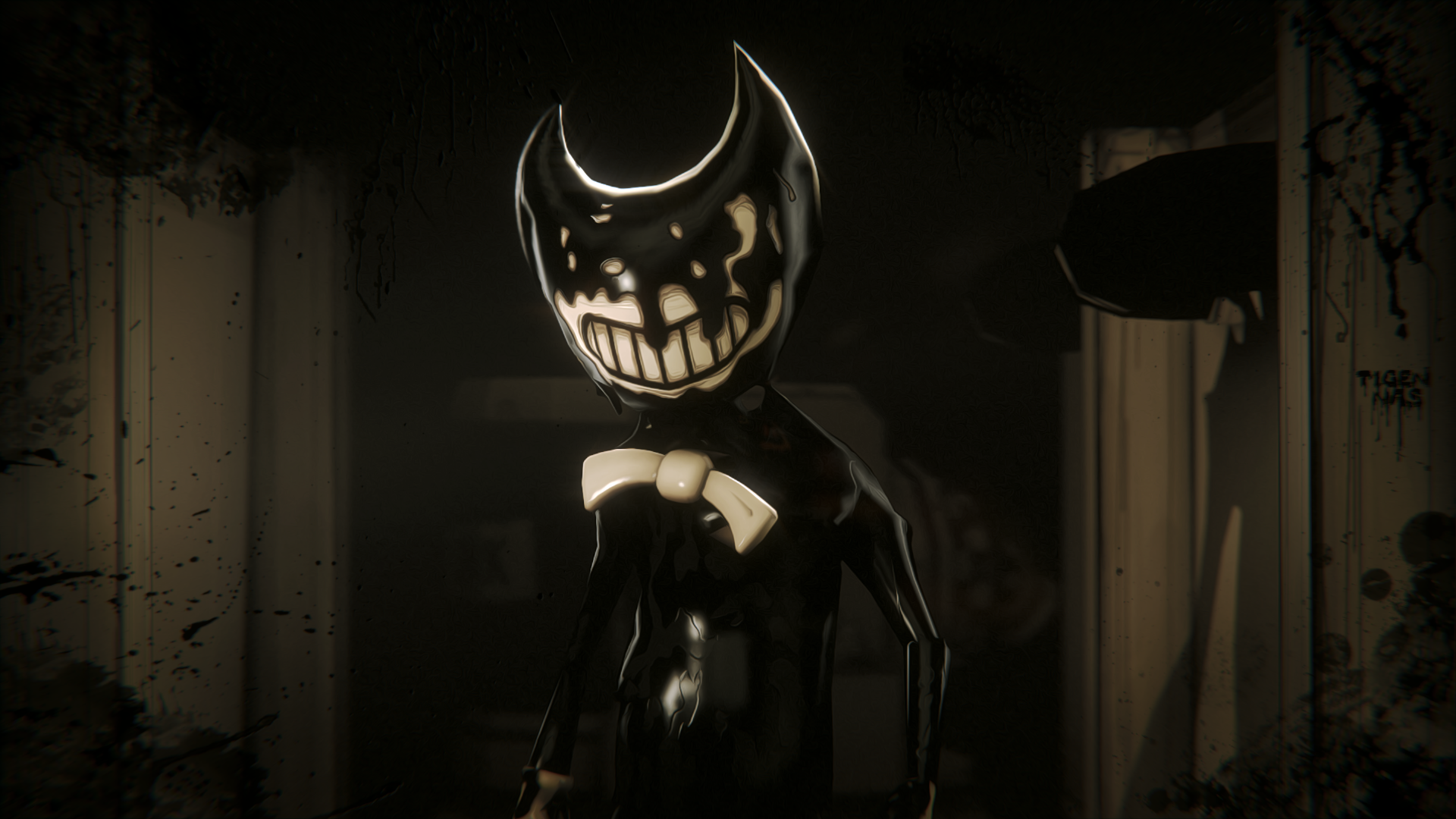 Image result for bendy and the ink machine ink monster