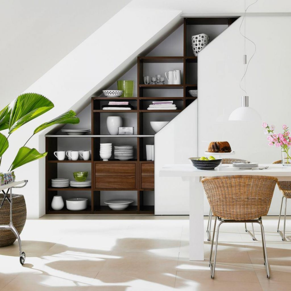20 Ideas To Optimize The Space Under Your Stairs Meccinter