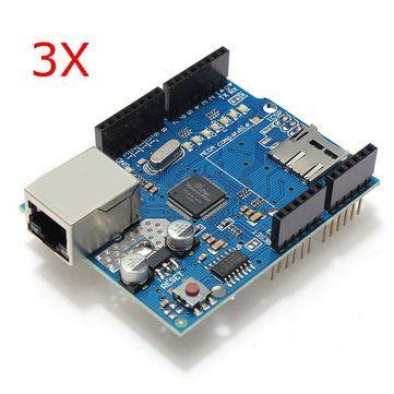 Module Ethernet W5100 Shield SD//Arduino Uno R3 Compatible Cable USB 50cm