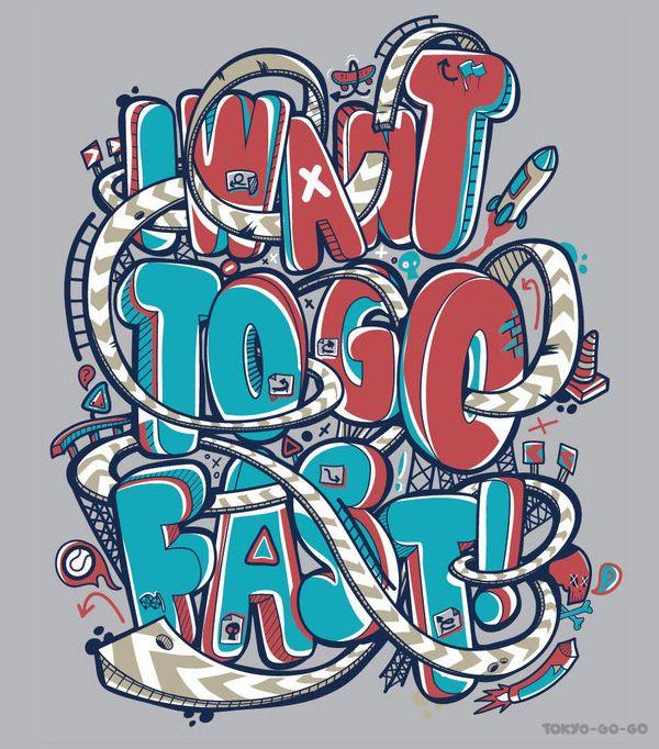 """""""I Want To Go Fast"""" by Greg Darroll aka Tokyo-Go-Go"""
